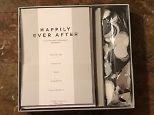 Happily Ever After Engagement Invitations Envelopes with matching confetti Party