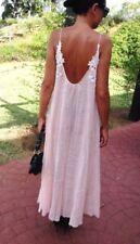Vestiti da donna rosa floreale taglia XS
