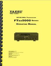 Yaesu FTDX-5000 5000D 5000MP OWNER'S MANUAL