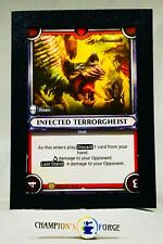 Warhammer Age of Sigmar Champions Infected Terrorgheist FOIL #096 Rare Unclaimed