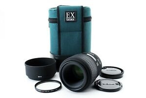 Sigma EX 105mm f/2.8 Macro Lens w/ case for Sony Minolta A Mount [Excellent