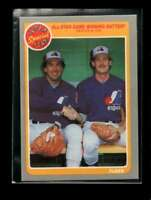 1985 FLEER #632 GARY CARTER/CHARLIE LEA NMMT EXPOS ALL-STAR GAME WINNING BATTERY