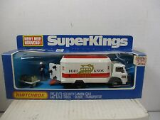 MATCHBOX SUPERKINGS K-19 SECURITY TRUCK FORT KNOX