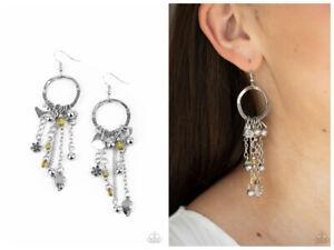 NWT! Paparazzi ~ Charm School ~ Yellow Earrings