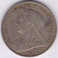 1897 Victoria Silver Sixpence | British Coins | Pennies2Pounds