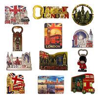 12 Mix London Souvenir Metal Fridge Magnet Bottle opener Magnet British UJ Photo