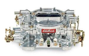 Edelbrock 1404 Performer 500 CFM Manual Choke Carb / Carburettor - Satin Finish