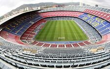 BARCELONA FC CAMP NOU STADIUM PICTURE PRINT POSTER A4 260GSM
