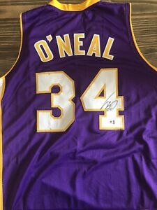 Shaquille O'Neal Signed Jersey (COA)