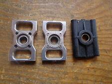 Trex 600 N aleación de plata de eje principal de rodamientos y se monta con plástico Lower Mount