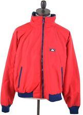 WOOLRICH Mens Bomber Jacket Size 42 XL Red Nylon  AL18