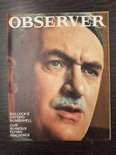 Observer Magazine, Alan Bullock: October 18th, 1964