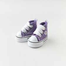 Neo Blythe Pullip Doll Canvas Sneakers Micro Shoes - Purple
