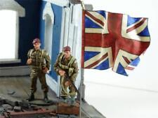 Cloth Flag - 54mm - British National Flag - WWII