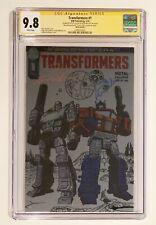 THE TRANSFORMERS #1 METAL FAN EXPO • CGC SS 9.8 • SIGNED CULLEN & WELKER • /750
