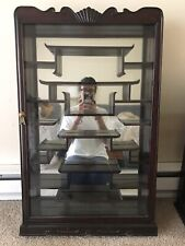 Vintage Chinese Display Curio Cabinet