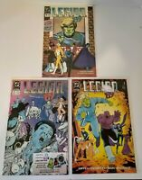 LEGION 89 1st Series #1-3 Bagged and Boarded