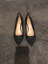 Antonio Melani women's black sequin pump heel size 6.5