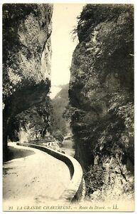 CPA 38 Isère Grande Chartreuse Route du Désert