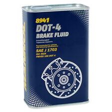 MANNOL BREMSFLÜSSIGKEIT BRAKEFLUID DOT-4 1 Liter Bremsflüssigkeit SAE J 1703