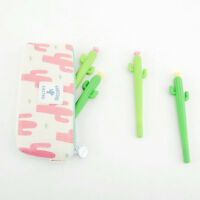 8Pcs Cute Cartoon Cactus plant Gel Pens Office School Student Supply Stationery