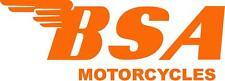 Bsa Motorcycles Decal / Sticker - Set Of 2 - Orange 00004000