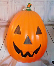 "Halloween 28"" Blow Mold Pumpkin jack o lantern Empire lighted yard décor"