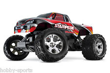 Traxxas Stampede Electric RC 2.4Ghz Truck With XL-5 ESC Batt/Charger TRA360541