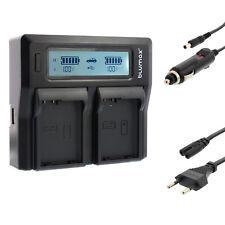 BATTERIA Caricabatterie Dual Charger per Nikon en-el14 d5500 d5600 COOLPIX p7000 | 90339