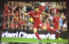 Adam Lallana signed Liverpool 12x8