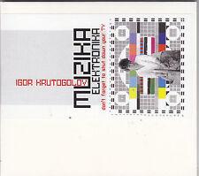 IGOR KRUTOGOLOV - muzika elektronika CD
