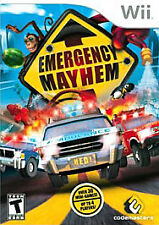 Emergency Mayhem (Nintendo Wii, 2008) NEW, sealed