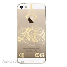 Disney iPhone 5 5S Clear Hard Cover Case Toy Story Alien Gold