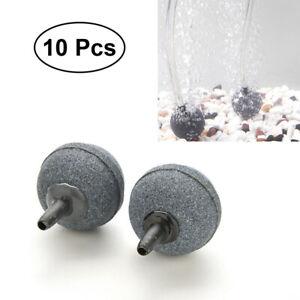 10Pcs Air Stone Bubble Diffuser for Aquarium Fish Tank Hydroponics Pump Airstone