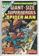 Giant-Size Super-Heroes #1 Vg Spider-Man Vs. Morbius & Man-Wolf :)