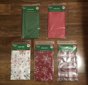 Christmas Tablecloths New In Package