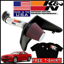 K&N Typhoon Fipk Cold Air Intake System fits 2012-2015 Chevy Camaro 3.6L V6