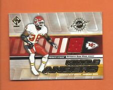 2001 PRIVATE STOCK KIMBLE ANDERS GAME-USED JERSEY #77 KANSAS CITY CHIEFS