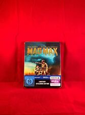 Mad Max: Fury Road Blu Ray limited Steelbook, Region Free, exclusive Cover Art