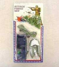 Vintage 1970's Attack Force Soldiers 1/78 Scale or HO British Soldiers