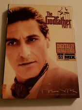 The Godfather Part Ii (Dvd, 2008, The Coppola Restoration) Brand New Sealed