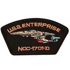 1 Écusson Brodé Thermocollant NEUF ( Patch ) - Star Trek USS Enterprise