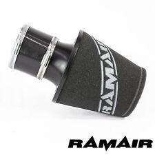 RAMAIR Schwarz M Aluminium Induktionsluftfilter Universal Mit 90Mm Kupplung