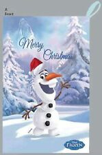 70x45cm Frozen Santa Christmas Sack - Olaf design  NEW