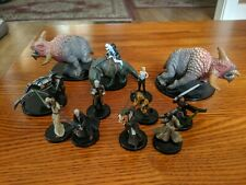 Star Wars Miniatures, 12 figures, no cards