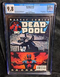 Deadpool # 55  CGC 9.8 NM/M Universal Deadpool Vs Punisher