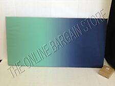 Pottery Barn Teen Style Tile Ombre Surf Fabric Pin Message Board 32x16 Blue GRN