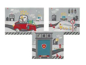 FLexa 83-20249 Spielvorhang 3-teilig Heroes/ Kleine Helden