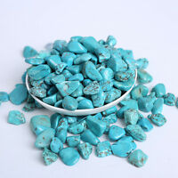 Wholesale 200g Bulk Tumbled Stone Turquoise Crystal Healing Reiki Mineral 9-12mm