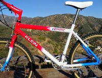 Klein TOP GUN ~ Original Factory Top Gun,Dura Ace Hubs,Selle Italia Turbo, USA